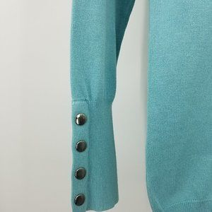 Joesph A Sweaters - Joesph A. Teal Cowlneck Long Sleeve Sweater 🌵